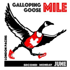 Galloping Goose Mile - Logo - London Pacers - Second Monday June