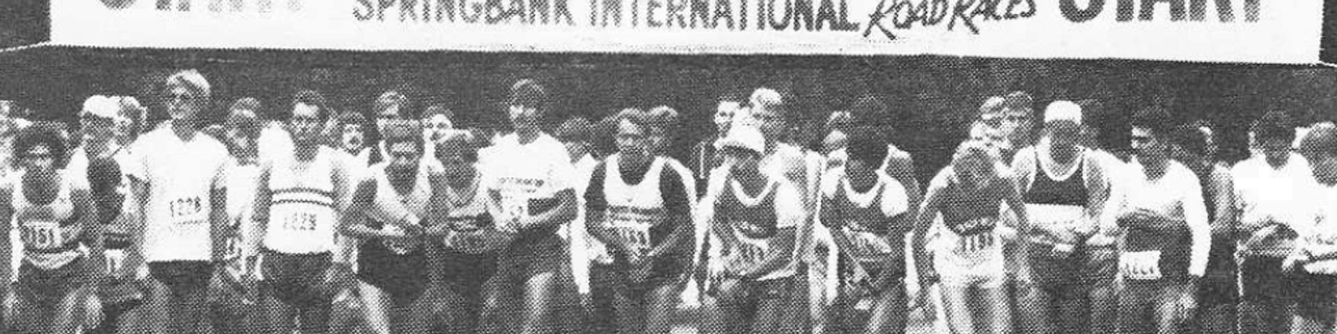 Springbank International Road Races 1985 - Start Line
