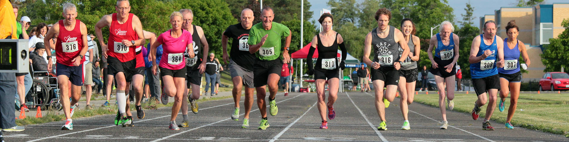 London Pacers Galloping Goose Mile Night 2016